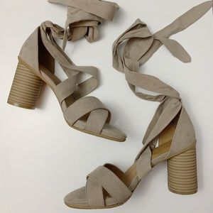 Kenneth Cole Reaction Wrap Heels